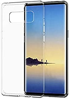 Silicone Back Case Cover By Ineix For Samsung Galaxy Note 8 - Clear