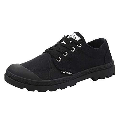 LILIHOT Wanderschuhe Paar Sneaker Canvas hohe Schuhe atmungsaktiv Sports Outdoor Boots Wilde Freizeitschuhe rutschfeste Wanderschuhe Wasserdicht Trekking Schuhe