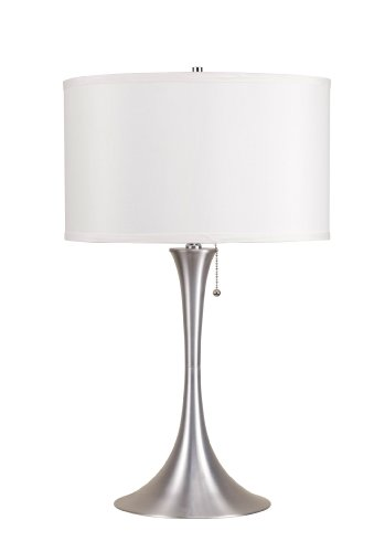 ACME Cody Table Lamp - 40023 - Brushed Silver