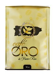Cafe Oro de P.R. - Puerto Rican Ground Coffee by Cafe Oro Puerto Rico Inc - 2 lbs VALUE PACK - 8 ounce bag (Count of 4)
