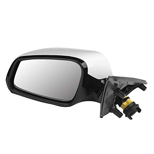 Espejo de coche - Ensamblaje del espejo retrovisor del lado izquierdo del coche ABS brillante + Ajuste de vidrio para accesorios de coche F18 Accesorios de espejo retrovisor de coche Espejo retrovisor