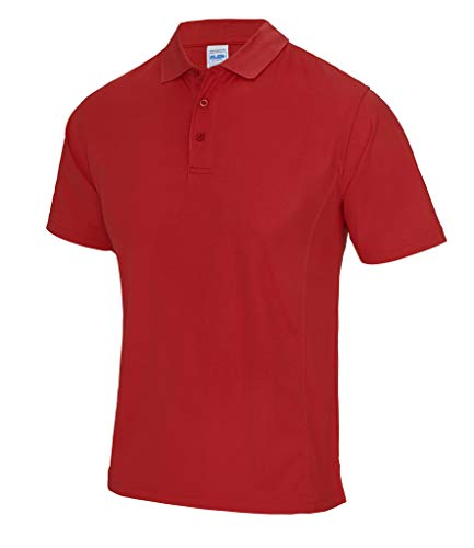 AWDis Cool Supercool Performance Polo pour Homme JC041 Fire Rouge Taille XL