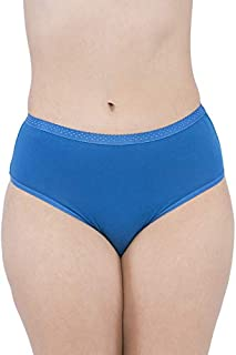 VIP Feelings Intimate Outer Elastic Cotton Hipster Assorted Panties - Pack of 6