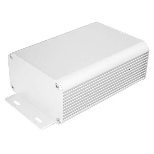 Aluminium Elektronische Projektbox, DIY Schwarz Aluminium Gehäuse Gehäuse Elektronisches Gehäuse Elektronisches Projektgehäuse Schutzbox Aluminium Kühlgehäuse 1,8 x 3,1 x 4,3 Zoll (45 x 80 x 110 mm)
