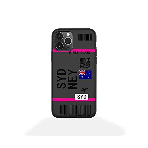 phone cover First Class - Funda para iPhone 12 Pro Max Mini 11 Pro Xs Max 8 7 6 6S Plus X 5S Se 2020 Xr Case-A3-Para 7 Plus o 8 Plus