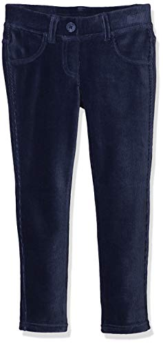 United Colors of Benetton Mädchen Jeggings Pantalone Ciniglia Velluto Coste Jeans, Blau (Blu 13c), 82 (Herstellergröße: 1Y)