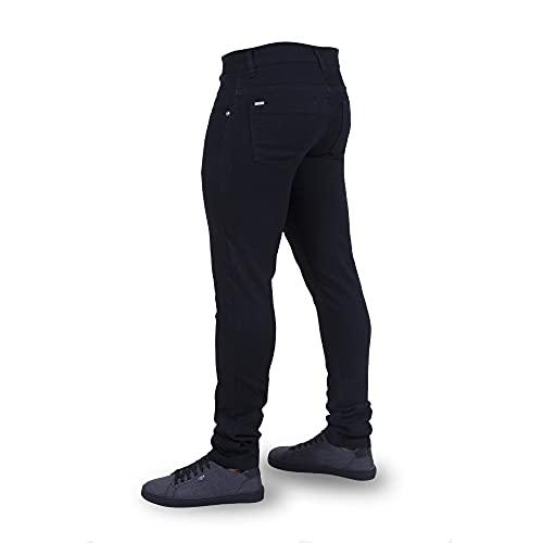 Calça Jeans Masculina Skinny Moderna Preta/42