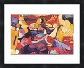 """1979 Vintage KANDINSKY /""""ON POINTS/"""" FABULOUS ABSTRACT COLOR offset Lithograph"""