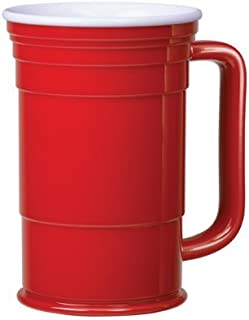 Red Cup Living Mug, 24-Ounce - Set of 4