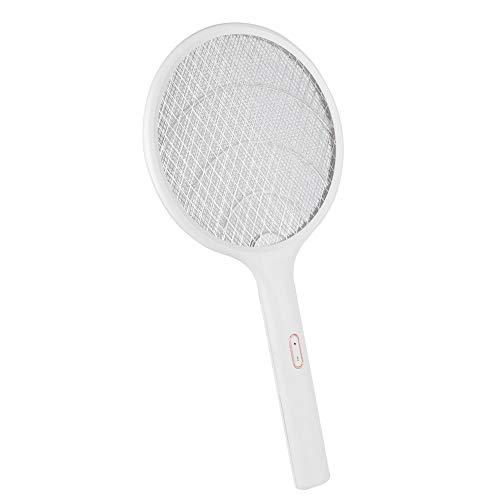 Oumefar Mosquito Swatter, Mosquito Bat Respetuoso con el Medio Ambiente, Sala de Estar Familiar con Raqueta de Mosquito para el hogar