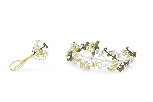 Fertig-Modelle Diadem und Anstecker zur Diamant Hochzeit