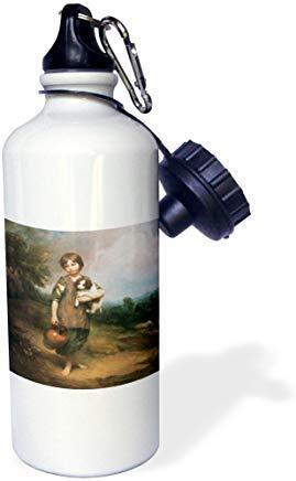 GFGKKGJFD624 Wasserflasche mit Hund und Krug von Thomas Gainsborough, Aluminium, lustig, für Männer und Frauen