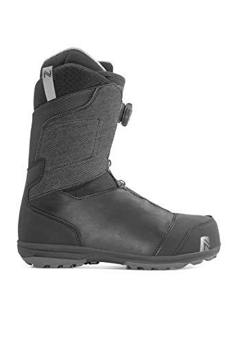 Nidecker - Boots De Snowboard Aero Boa Homme Noir - Homme - Taille 42 - Noir