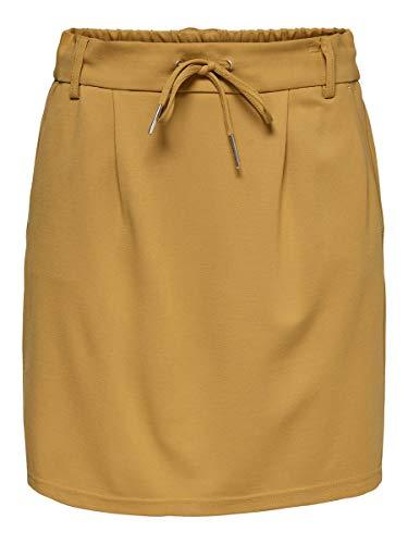 Only Onlpoptrash Easy Skirt Pnt Noos Falda, Abeto Amarillo, XS para Mujer