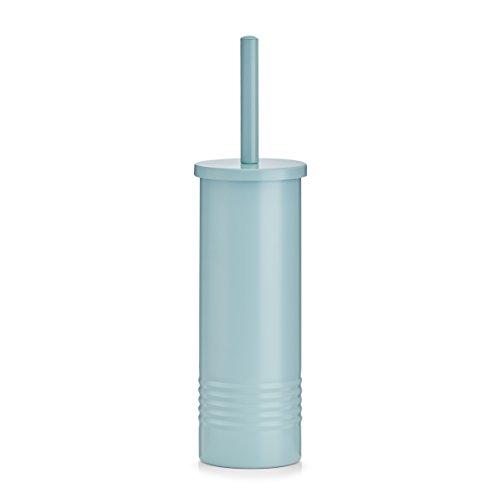 Zeller WC-Bürste Zubehör, Metal, Mint, 10 x 37.5 cm
