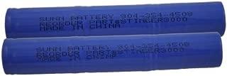 2 BATTERIES FOR STREAMLIGHT STINGER XT HP POLY 2600 MAH