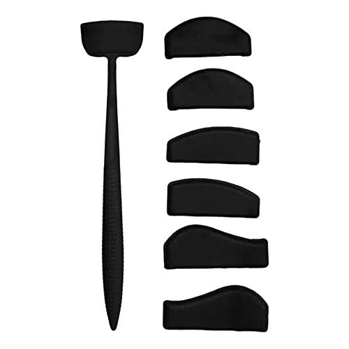 SM SunniMix Tragbares Silikon-Stempel-Cut Line Kit Lazy Eye Shadow Lidschatten-Make-up-Tool