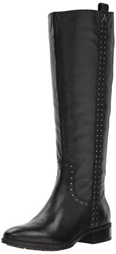 Sam Edelman Women's Prina 2 Knee High Boot, Black Leather, 6 W US