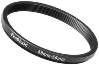 Adaptador Negro, Aluminio Adaptador para Objetivo fotogr/áfico Fotodiox 04SR4643 Cable para c/ámara fotogr/áfica