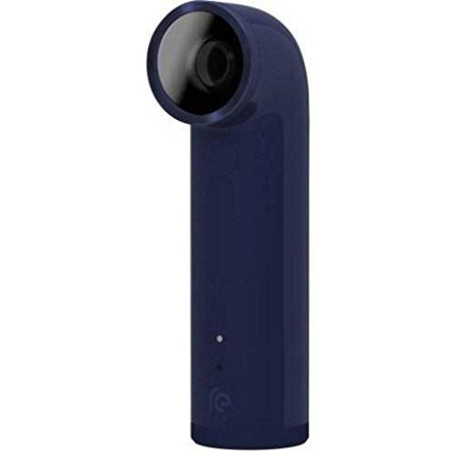 HTC - RE 16.0-Megapixel Digital Camera - Navy