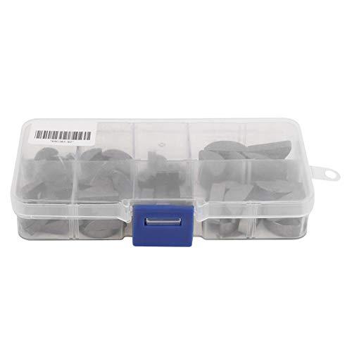 Woodruff Key Kit, National Standard Portable 80Pcs Woodruff Key-Sortiment, langlebig verschiedene Anforderungen für den Heimgebrauch Schaft S