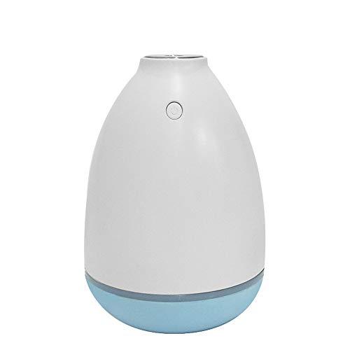 Berocia humidificador Bebes ambientador USB Coche pequeño con luz LED de Colorida Auto-Apaga para Hogar Oficina Bebé Dormitorio y Baño Silencioso (azul)
