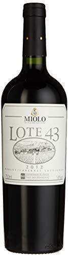 Miolo Lote 43 Cabernet Sauvignon-Merlot Brasilien Wein, 1er Pack (1 x 750 ml)