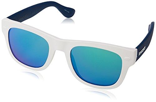 Havaianas PARATY/M Z9 QT1 50 Occhiali da Sole, Bianco (White Blue/Bluette), Unisex-Adulto