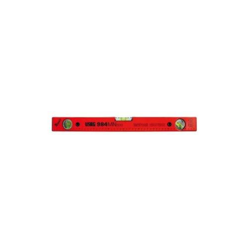 USAG 984 MN - Livella in alluminio con base magnetica 984025