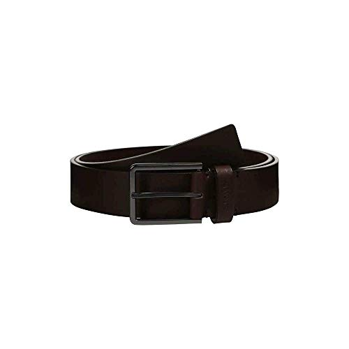 Calvin Klein Herren K50K505179 3.5 cm Essential Gürtel , Braun (Dark Brown/Navy...