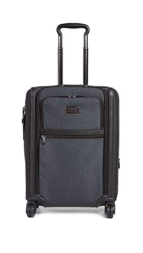 TUMI - Alpha 3 Continental Dual Access 4 Wheeled Carry-On Luggage - 22 Inch Rolling Suitcase for Men and Women - Anthracite