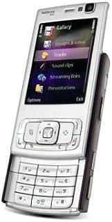 Nokia N95 Unlocked Cell Phone with 5 MP Camera, International 3G, Wi-Fi, GPS, MP3/Video Player, MicroSD Slot-International Version No Warranty (Brown)