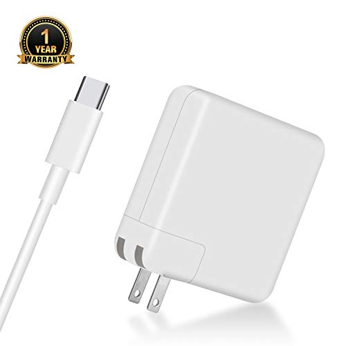 87W USB C Power Adapter Charger, ZeaLife USB C PD Wall Charger Brick for MacBook Pro, Compatible with Thunderbolt Charger Port MacBook Pro, iPhone 11/Pro/Pro Max (UL Listed)