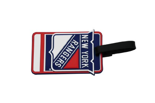 JF Sports Canada NHL New York Rangers 3D Effect Luggage Tag