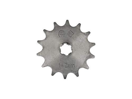 FEZ Ritzel, kleines Kettenrad, 14 Zahn - für Simson S50, KR51/1 Schwalbe, SR4-2 Star, SR4-3 Sperber, SR4-4 Habicht