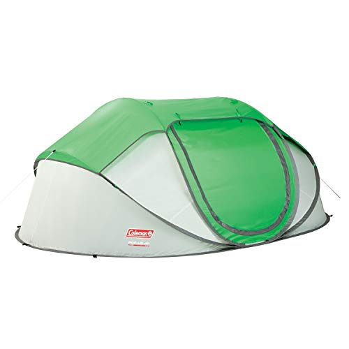 Coleman 4-Person Pop-Up Tent, Green