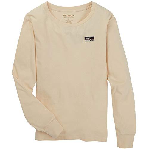 Burton Damen T-Shirt W LS, Größe:XL, Farben:Creme Brulee