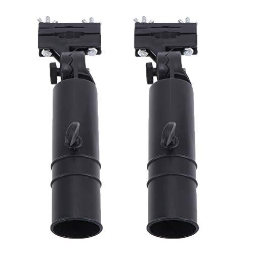 ABOOFAN Soporte universal para paraguas de carro de 2 piezas
