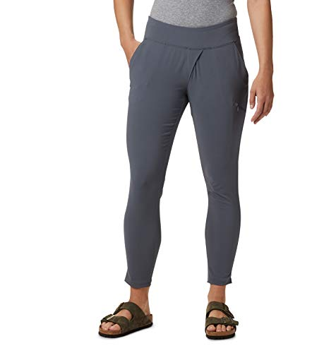 Mountain Hardwear Womens Dynama Ankle Pant for Climbing, Hiking, Cross-Training, or Everyday Use - Graphite - Small - 28