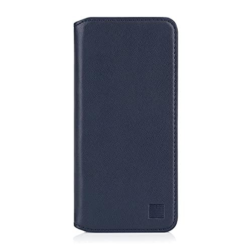 32nd Classic Series 2.0 - Funda Tipo Libro de Piel Real para Samsung Galaxy A50 (2019), Carcasa de Cuero Premium diseñada con Cartera, Cierre Magnetico y Soporte Integrado - Azul Marino