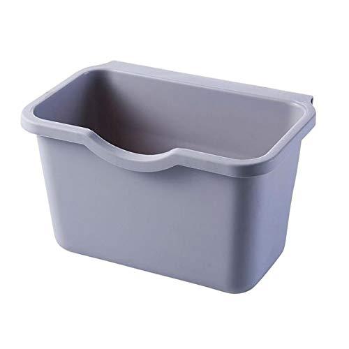 Gabinete de cocina puerta colgando la papelera puede conveniente basura residuos de cocina contenedor de basura cocina madre buen contenedor de almacenamiento auxiliar China Gris