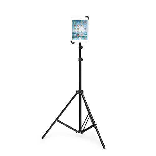 """Grifiti Nootle Universal Tablet Tripod Stand Adjustable for All 7"""" to 11"""" Tablets with or Without Cases 1/4-20 Connector Travel Case for Displays, Photos, Movies, Videos."""