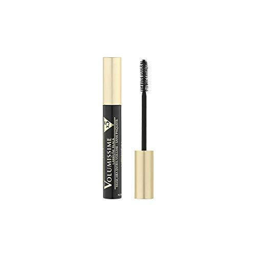 L Oréal Paris Volumissime Carbone X5 Máscara de Pestañas, Color Negro - 19 g