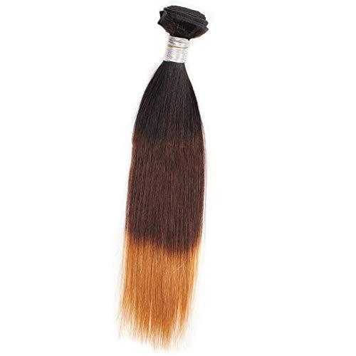 Souple 9A Bundles de cheveux brésiliens Kinkys Curly Extensions de cheveux humains fashion (Color : Brown, Size : 18 inch)