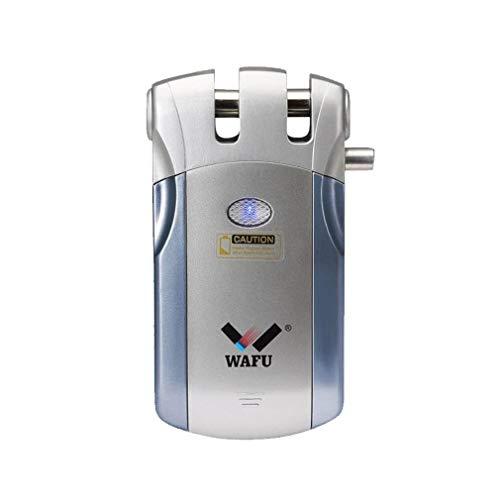 Smart Lock Cerradura, Cerradura electrónica WF-018, Sin Llave Control Remoto Cerradura Invisible con 4 Control Remotos