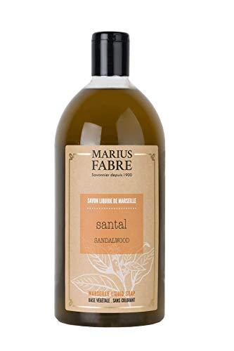 Marius Fabre 'Herbier' : Flüssigseife Sandelholz Nachfüll , 1 Liter