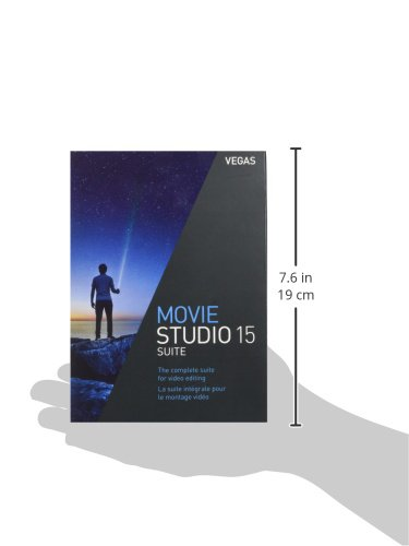 VEGAS Movie Studio|15 Suite|1 Device|Perpetual License|PC|Disc