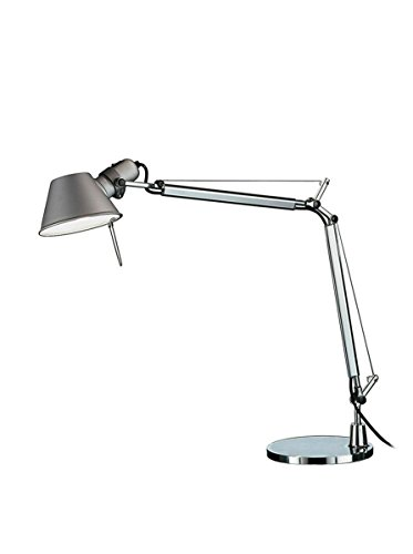 Artemide Tolomeo Mini lámpara de mesa con base de aluminio