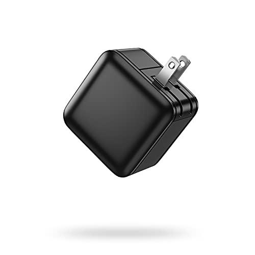 USB PD 65W 急速充電器 GaN(窒化ガリウム)採用/Type-C/軽量 折畳式プラグ 超コンパクト Macbook Pro/ M1 MacbookPro/M1 Macbook Air/iPhone 12/ iPhone11/ノートパソコン/Switch (黒)
