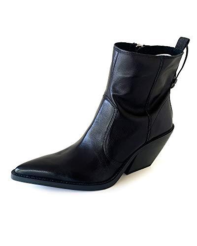ZARA Women Weiche lederstiefelette mit cowboyabsatz 7127/001/040 (41 EU   10 US   8 UK)